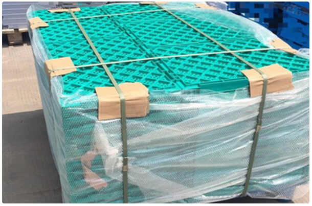 SHG Foldable Crate Packaging Process